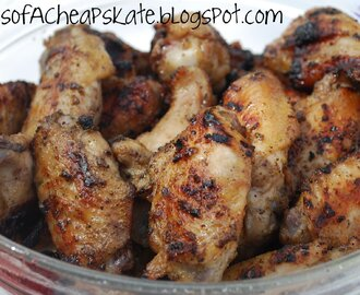 Grilled Brown Sugar Chicken Wings