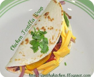 Mexican Tortilla Wraps