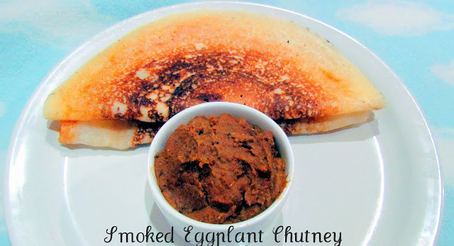 Smoked Egg Plant Chutney / Sutta Kathirikkai Chutney and Awards