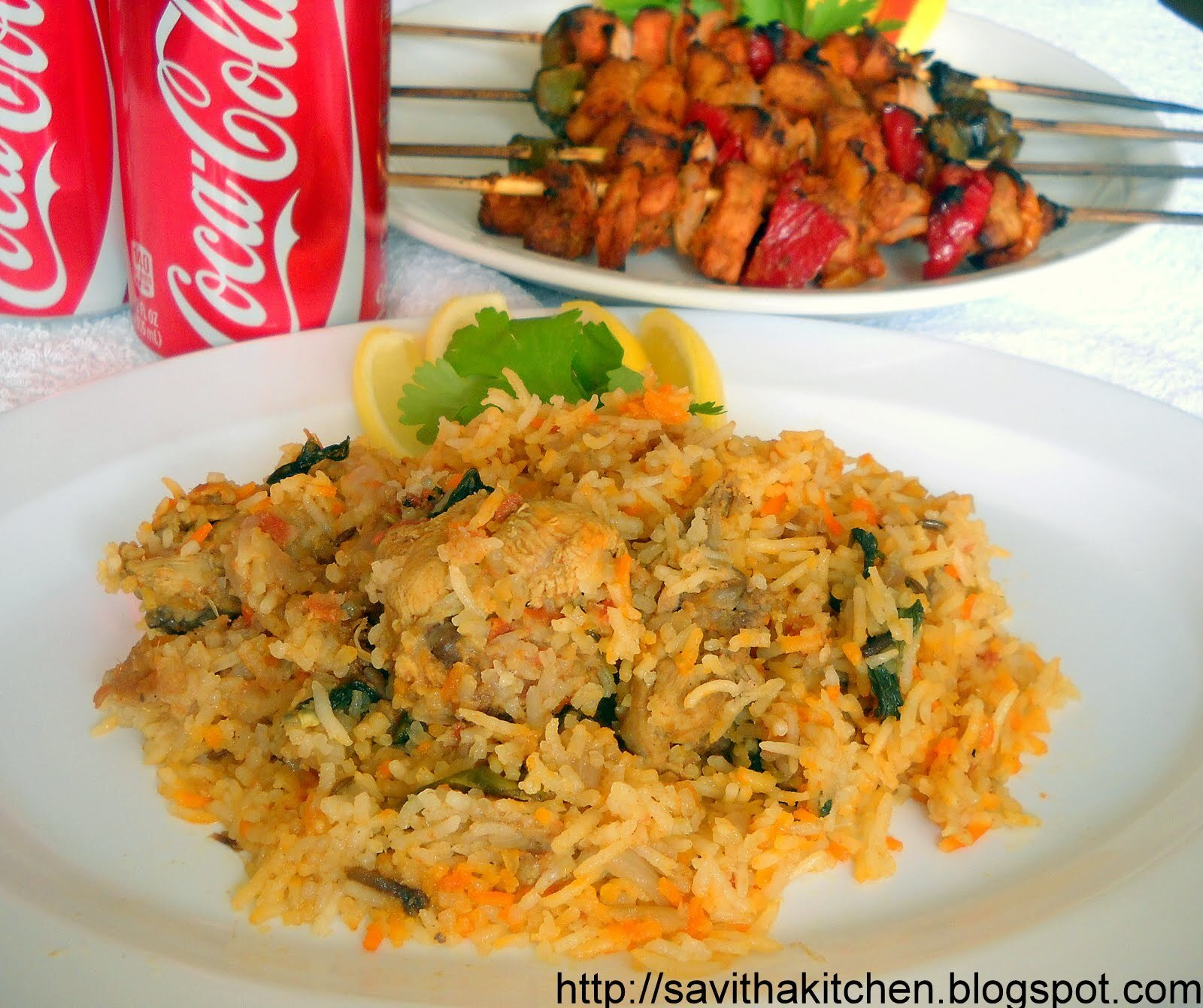 Hydrabadi Dhum Chicken biriyani and Blogging Marathon