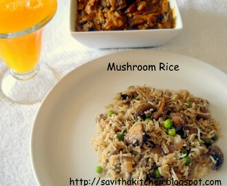 Mushroom Rice and an award