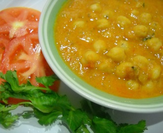 Spicy Chana Kuruma