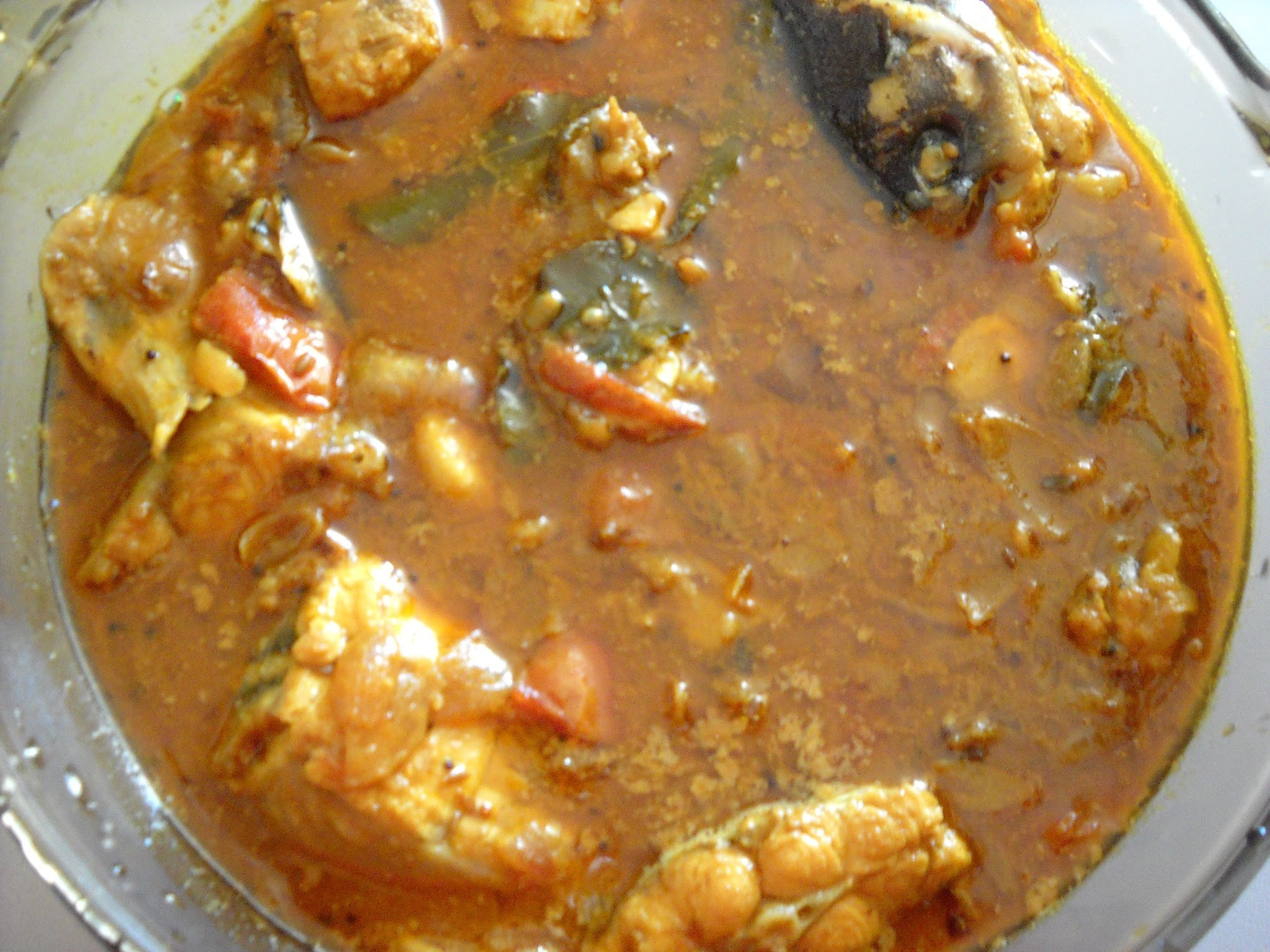 Fish Curry ( Keluthi Meen Kuzhambu)