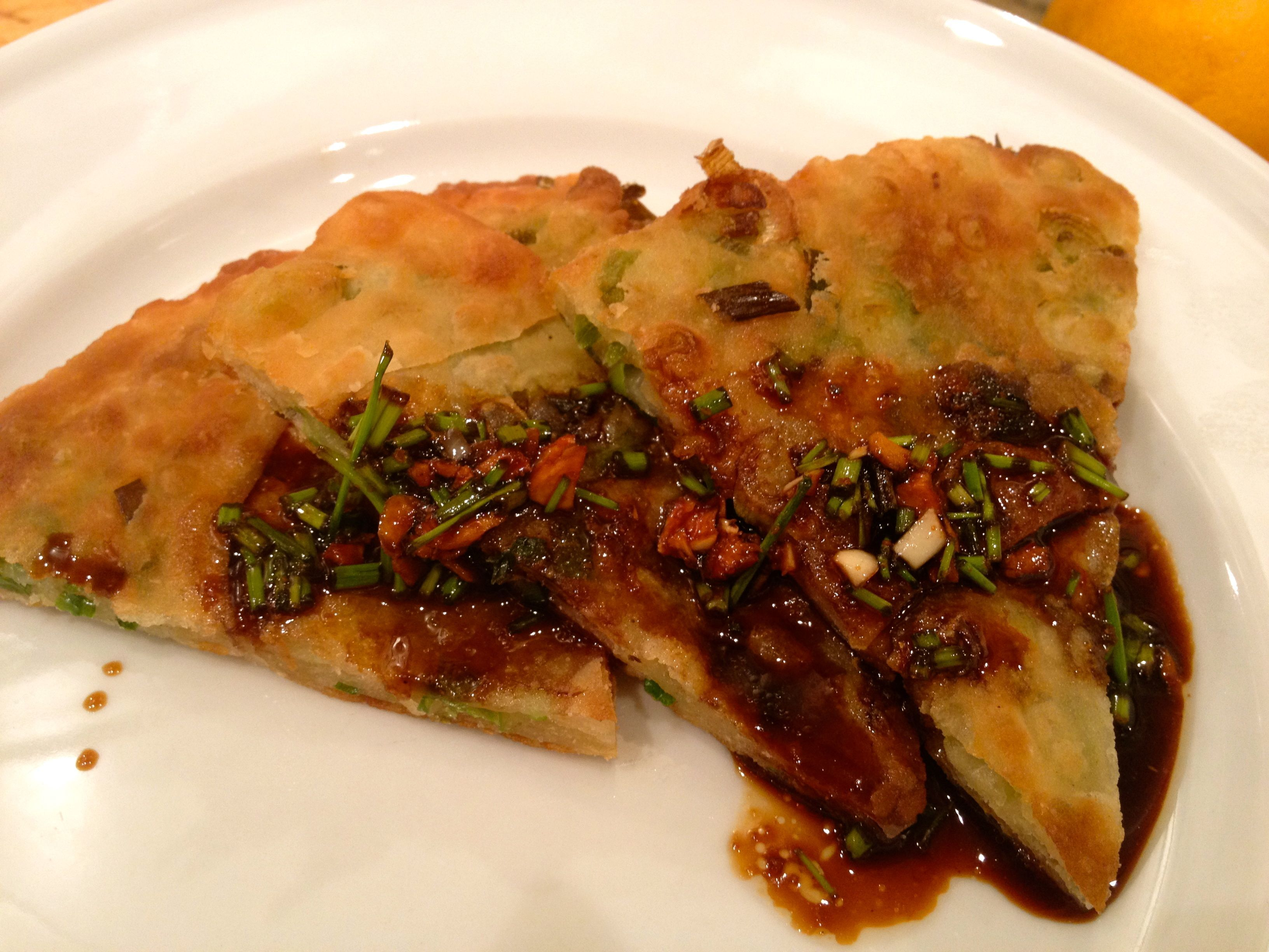 Homemade Scallion Pancakes….Talk about some good eats!