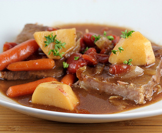 Slow Cooker One Dish Swiss Steak Recipe