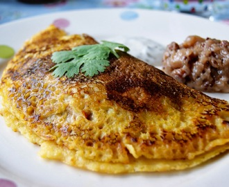 Spicy Vegetable Chickpea Pancakes