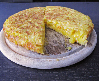 Traditionelle spanische Tortilla