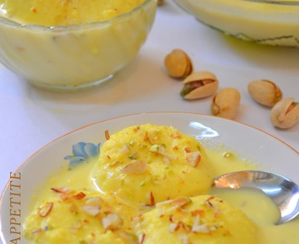 How to make Rasmalai  from Rasgulla at home / Step by Step Recipe :