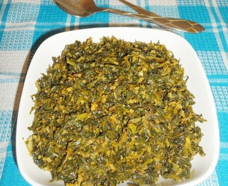 Methi sukke recipe | Menthe soppina upkari | Fenugreek leaves subzi
