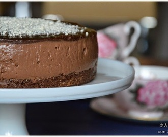 "CheeseCake de Chocolate estilo ""Lorraine Pascal"""