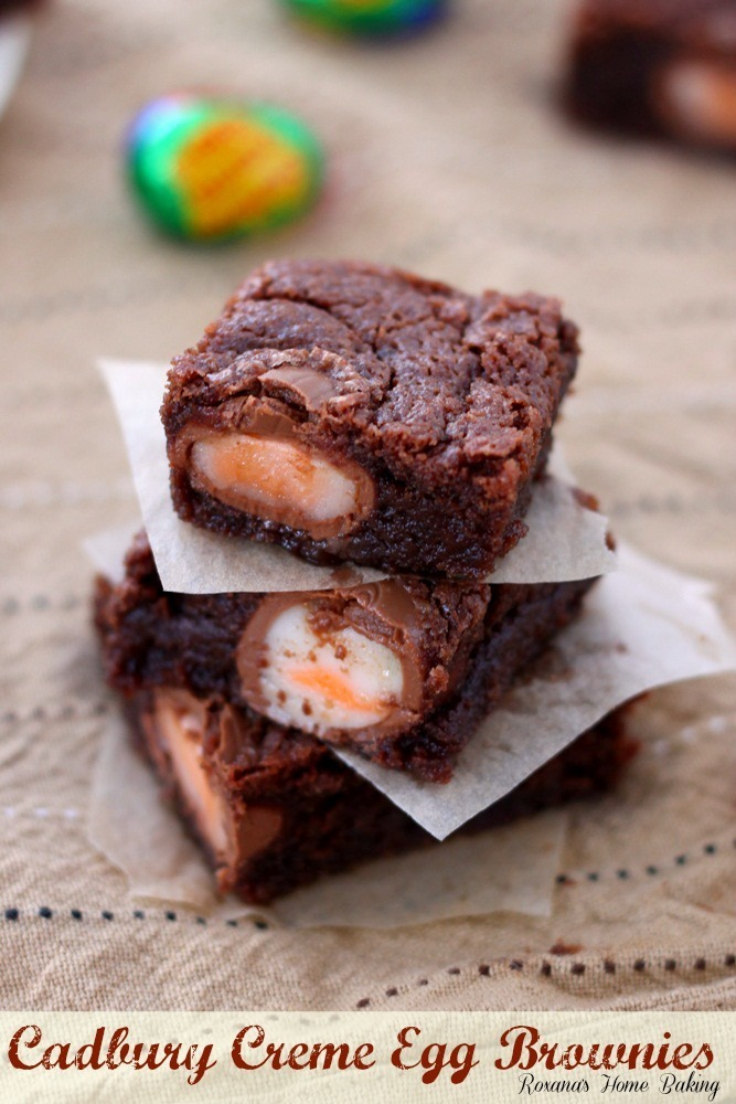 Mini Creme Egg Brownies – Success at Last!