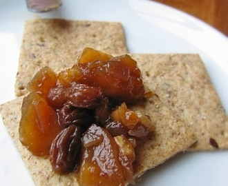 Apple & fruit chutney...