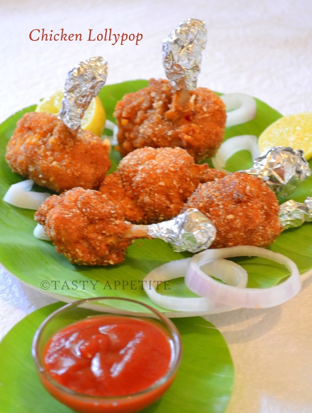 Chicken Lollypop / Easy Stepwise Recipe