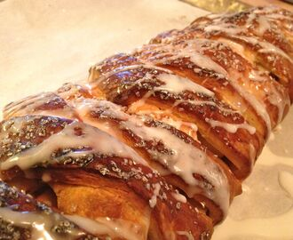 The Holiday Collection ~ Apple and Almond Braid with Sour Cream Pastry Dough ~ So easy and seriously good!