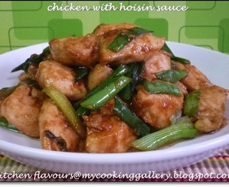 Chicken with Hoisin Sauce