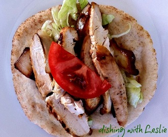 Chicken Gyro With Tzatziki