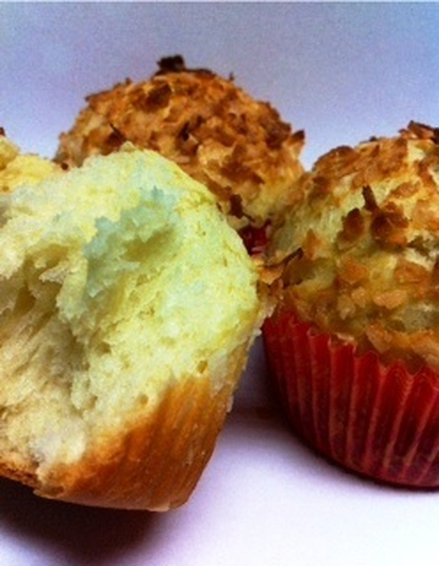 Coconut Bread Cups 椰丝面包