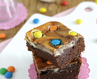 Brownies cheesecake {con M