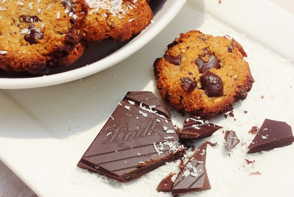 ♥ FOOD: gezonde American chocolate chip cookies