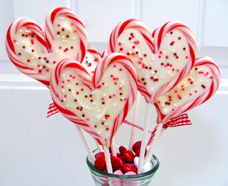 sweet heart valentine pops party!