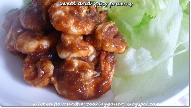 Sweet and Spicy Shrimps (Mexican Style) : IHCC