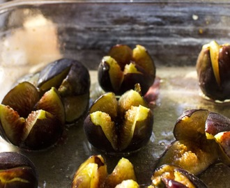 Give A Fig! Oven Roasted Fig Salad