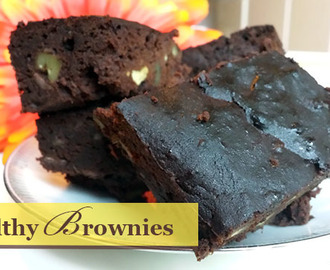 SUPER GEZONDE BROWNIES