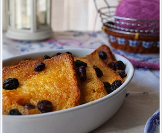 Bread & Butter Pudding (Pudding de Pan y Mantequilla)