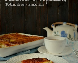 Pudding de pan y mantequilla