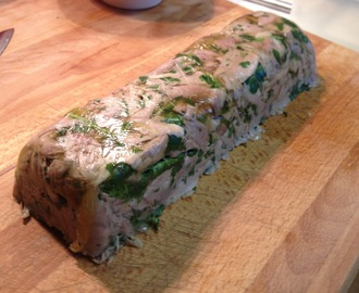 Turkey, Lemon & Herb Terrine