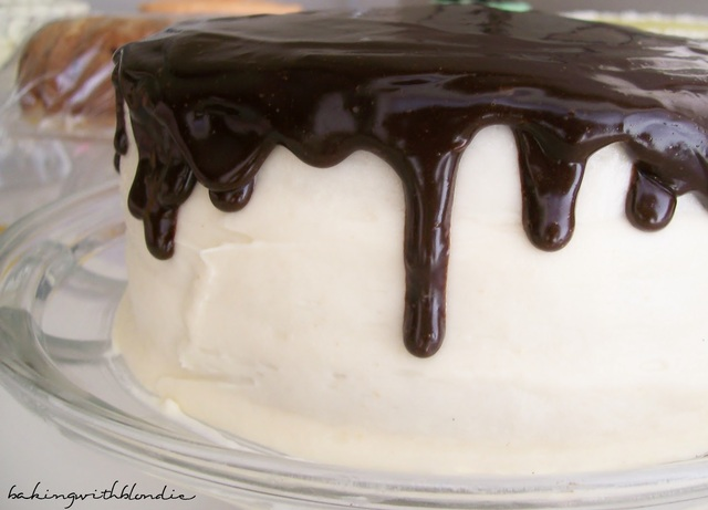 Salted Caramel Frosting and Simple Chocolate Ganache