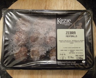 Kezie Foods: Zebra Meatballs [Review by @CaptainKindling]