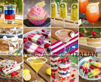 32 Perfect Treats for your Labor Day Party:  Cocktails, Desserts and Ice Pops