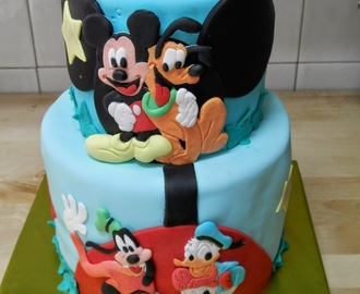 Tarta Mickey Mouse (play house disney).