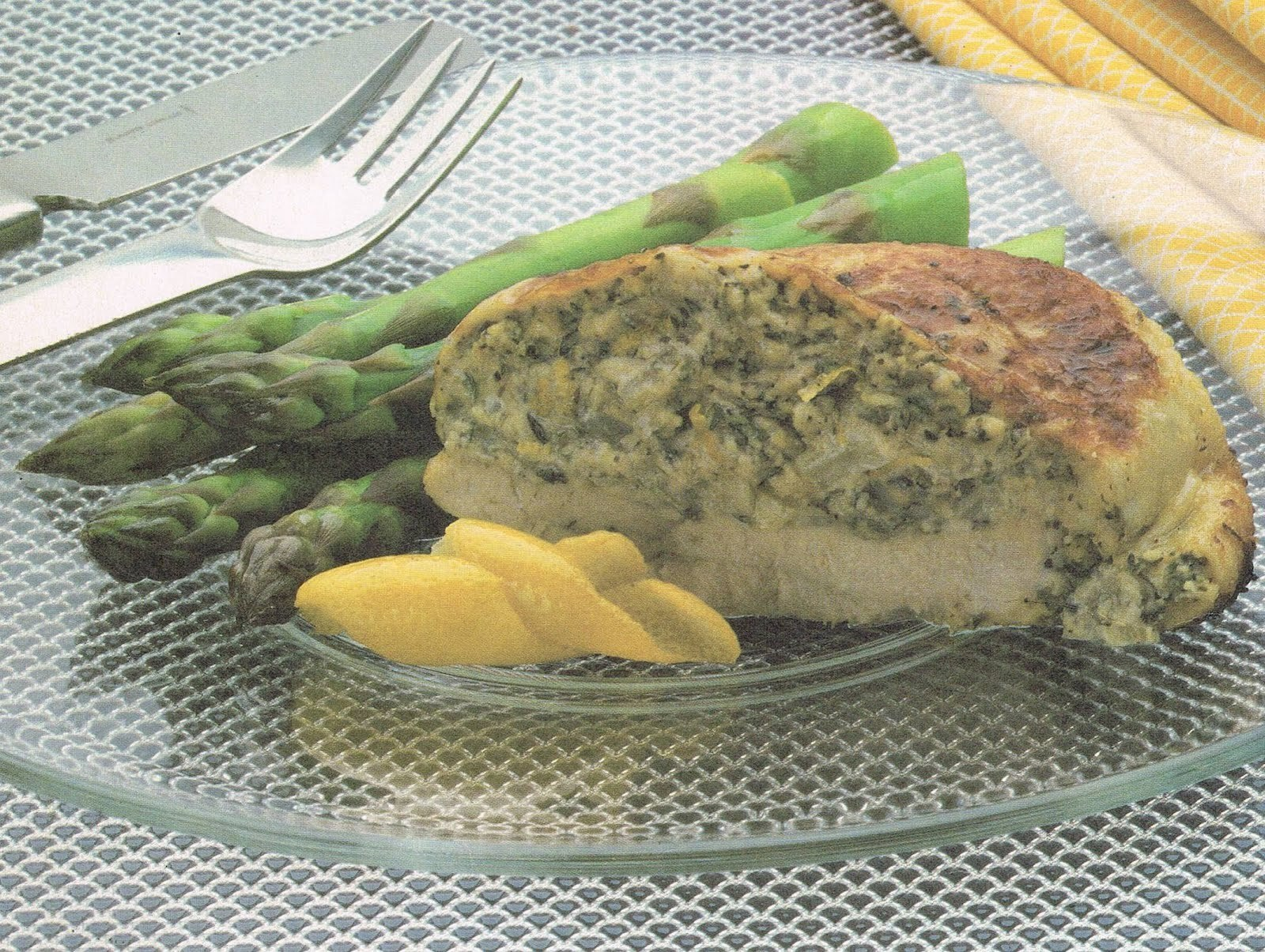 Chicken Breasts Stuffed with Cheese