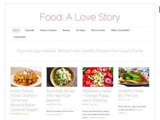 Food: A Love Story | Ayurvedically  Inspired Healthy Food and Recipes