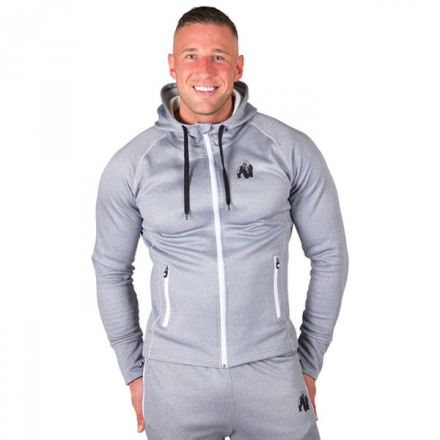 Bridgeport Zipped Hoodie, Silverblue XXX-large
