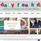 cooking and living with dairy free kids