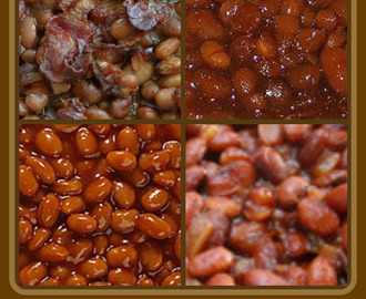 BBQ BAKED BEANS ~ OLD FASHIONED BOSTON BAKED BEANS
