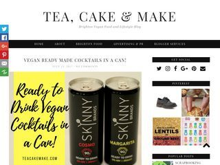 Tea, Cake and Make