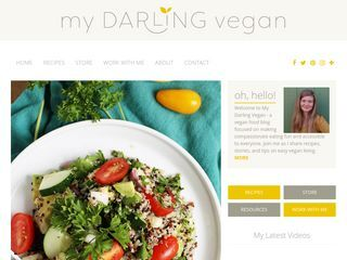 www.mydarlingvegan.com