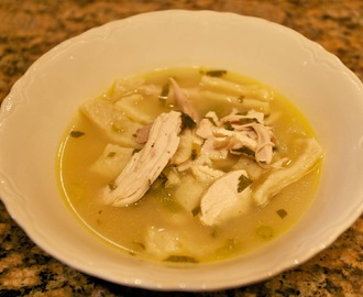 Bev's Chicken and Dumplings, The Best Comfort Food and a New Blog