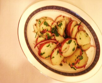 Warm Potato, Onion and Caper Salad (Insalata Calda di Patate, Cipolla e Capperi