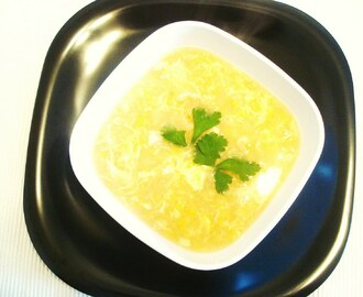 Thai Shrimp and Corn Soup