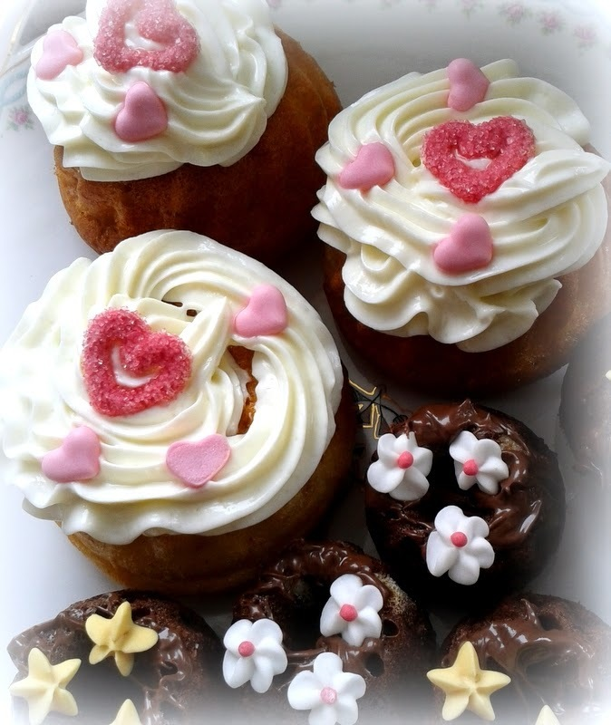 Muffins mit Topping