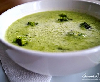 Healthy Cream of Broccoli / Zdravá brokolicová polievka / Crème de brocoli