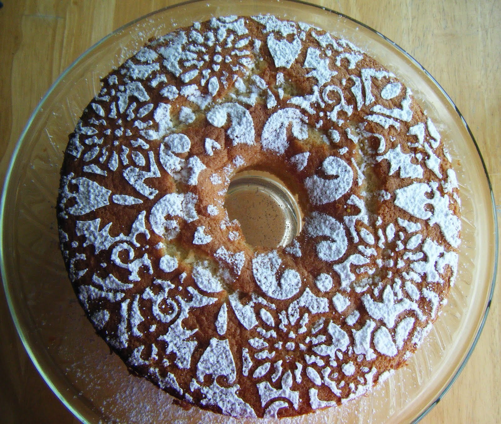 Lady Praline Chiffon Cake: Baked Sunday Mornings