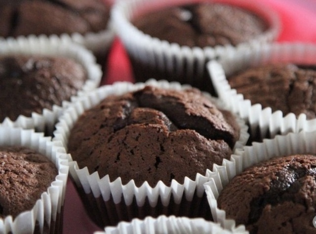 How to Bake Triple Chocolate Muffins
