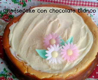 CHEESECAKE CON CHOCOLATE BLANCO Y UN TOQUE DE BAILEYS