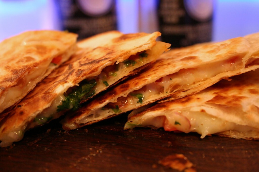 Quesadillas con Pico de gallo